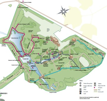 Stowe map