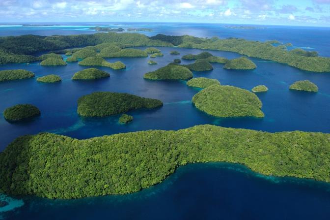 Small islands or big oceans?