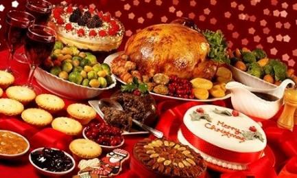 """All I want for Christmas is yo-… FOOOOD!!!"""