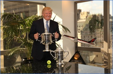 Trophy for Trump
